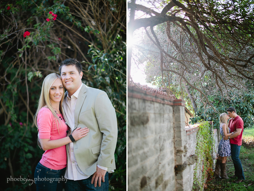 Brandon and Karen engagement -7 - Adamson house - Malibu - tandem bike.jpg