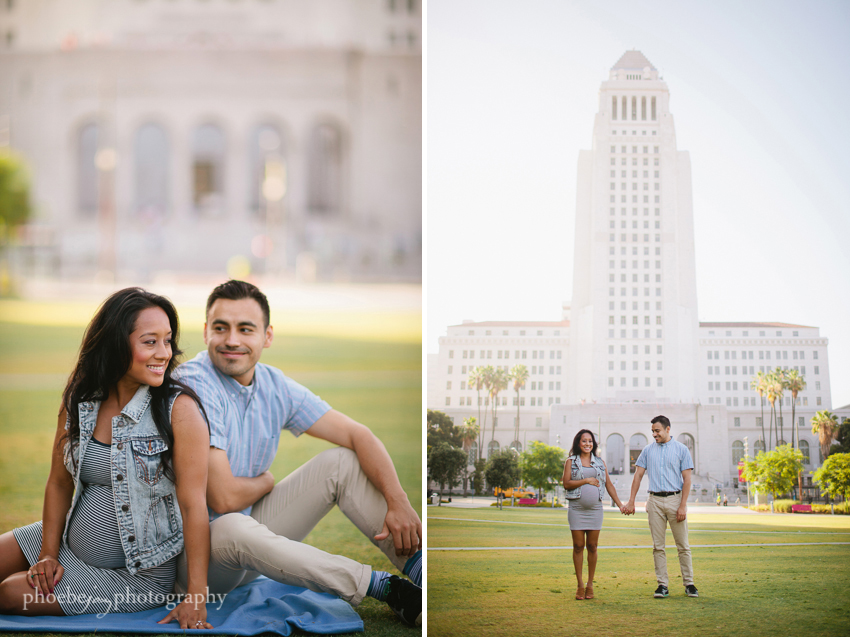 Downtown Los Angeles - maternity photography-2.JPG
