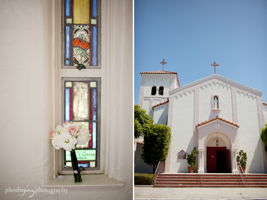 Pattie&Roger wedding-5 - St. Matthew's church - Long beach.jpg