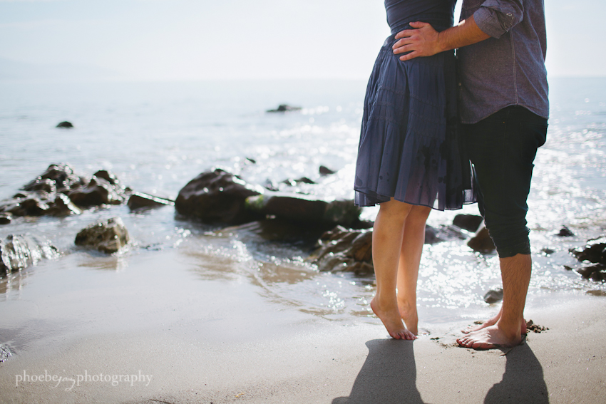 Point Dume - Malibu - beach - Jordan & Joris engagement-10.jpg