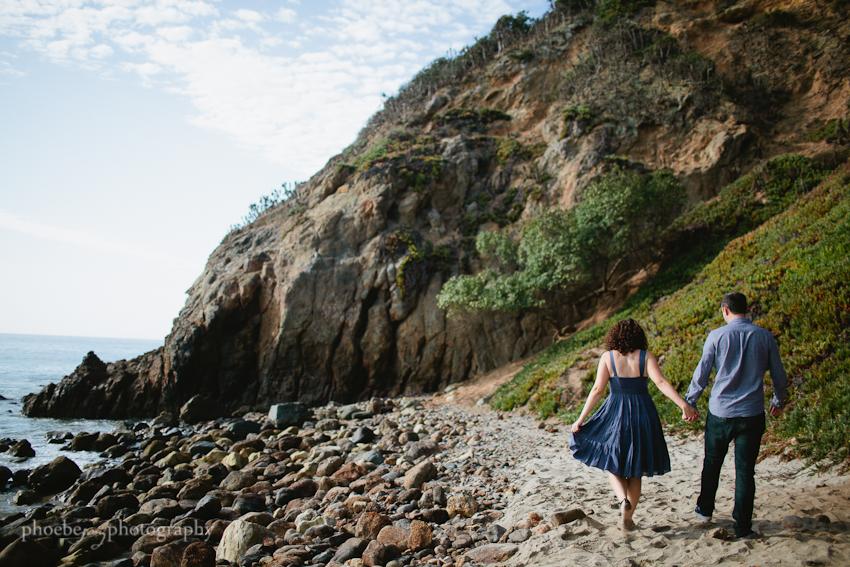 Point Dume - Malibu - beach - Jordan & Joris engagement-2.jpg