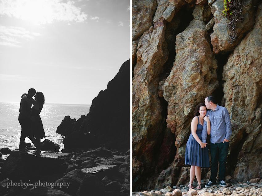 Point Dume - Malibu - beach - Jordan & Joris engagement-4.jpg