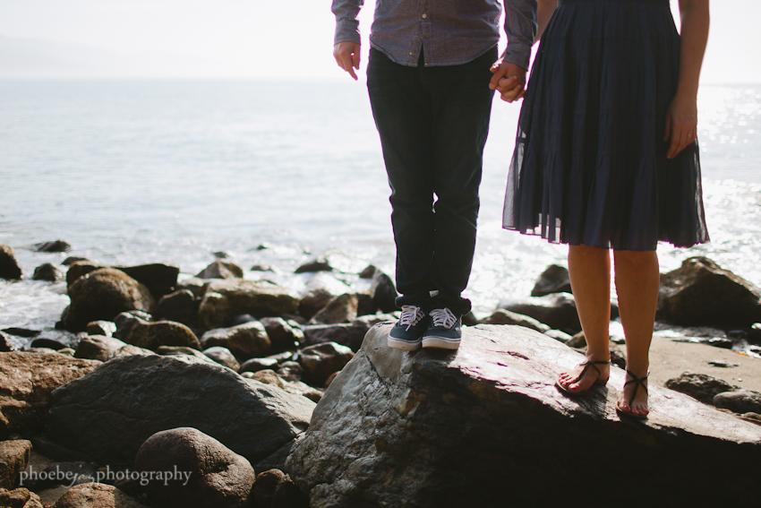Point Dume - Malibu - beach - Jordan & Joris engagement-7.jpg