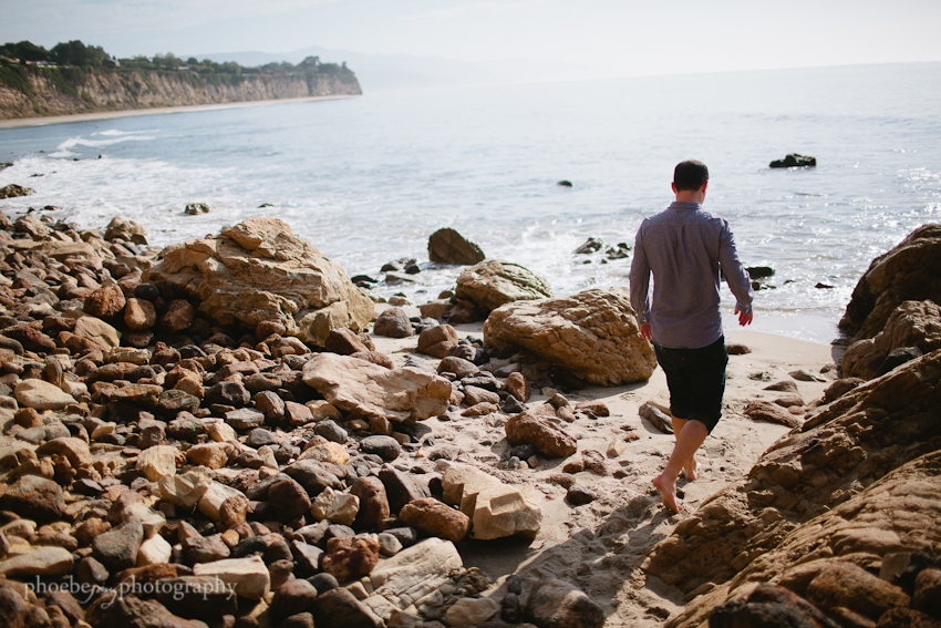 Point Dume - Malibu - beach - Jordan & Joris engagement-8.jpg