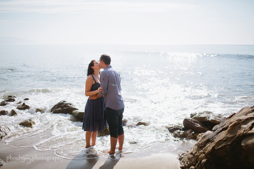 Point Dume - Malibu - beach - Jordan & Joris engagement-9.jpg