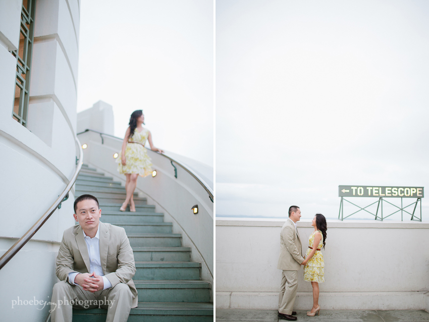 Sam and Eileen engagement-10 - Griffith Observatory.jpg