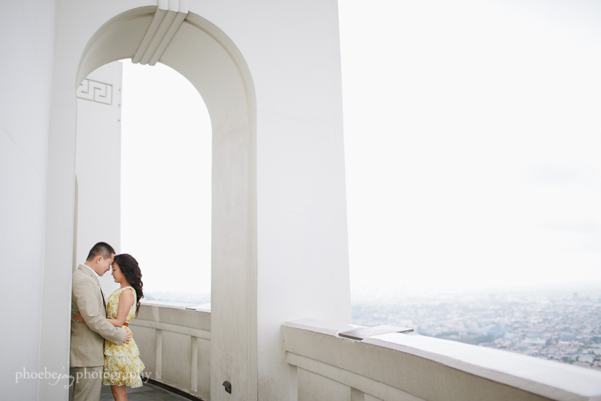 Sam and Eileen engagement-11 - Griffith Observatory.jpg