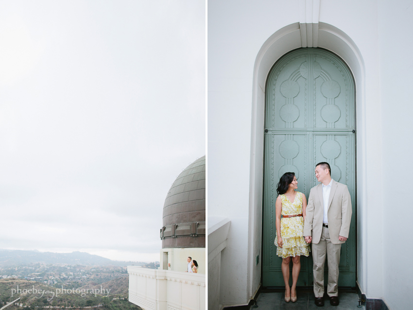 Sam and Eileen engagement-8 - Griffith Observatory.jpg