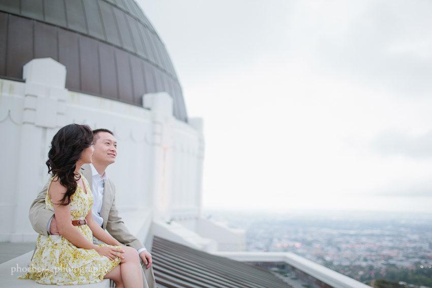 Sam and Eileen engagement-9 - Griffith Observatory.jpg